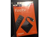 Amazon Fire TV 4K Ultra HD & Alexa Voice Remote (2017 Edition) - Brand New & Sealed.