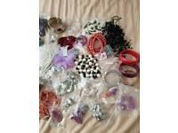 Job lot 37 pieces high street store costume jewellery