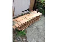 Laminate floor boards - FREE