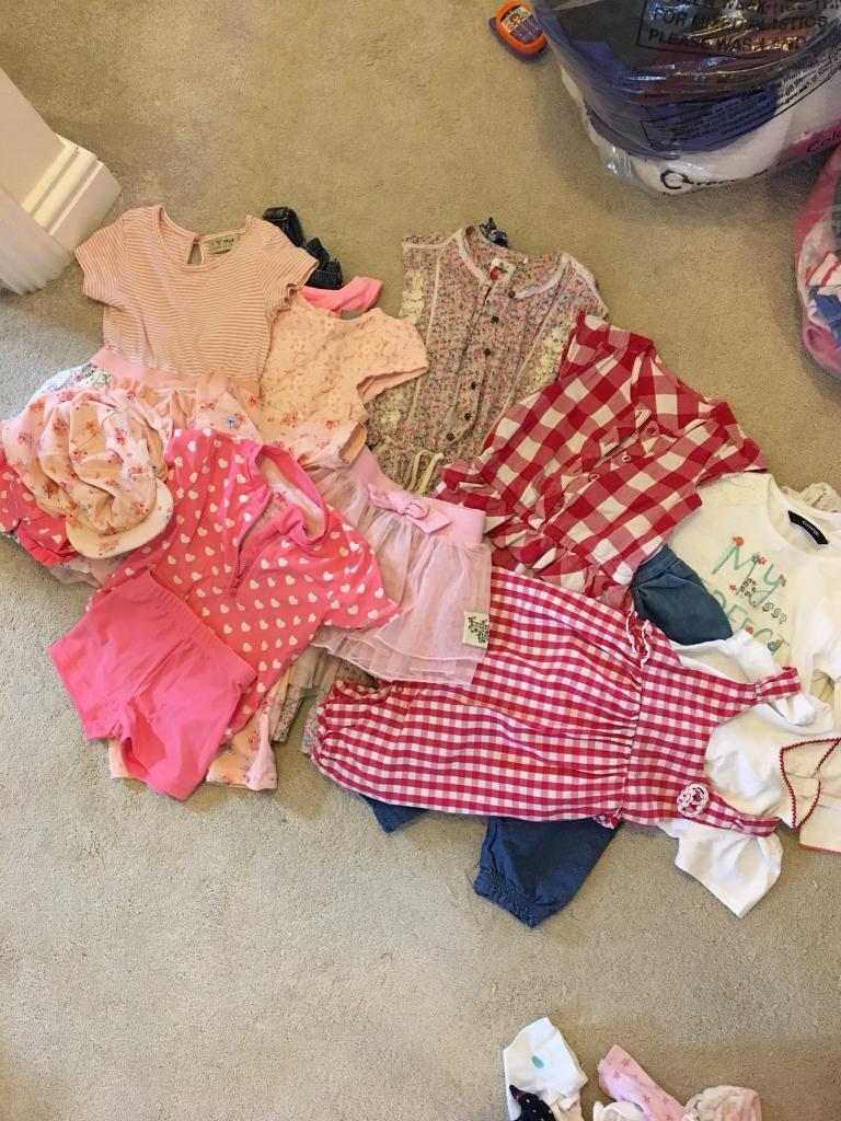 Girls 12-18 months clothes bundle