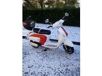 Wk 50cc moped