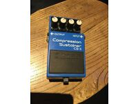 Boss Compression sustain CS-3 pedal