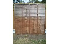 Garden fencing, posts & spurs for sale. Good condition.