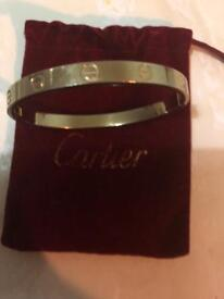 Gold Plate Cartier Bracelet