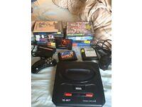 Sega Megadrive 2 + Great Games