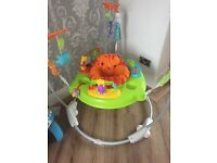 Jumperoo and baby swing