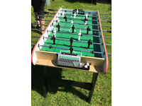 Brand new Foozball Table, comes with two balls, already assembeled, collection only.