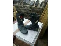 Sidi Motorbike Boots - Size 9