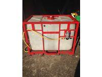 650 litre water tank window cleaning