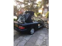 2001/ Mercedes 320 CLK convertible 131800k
