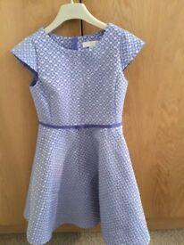 Girls blue jasper conran dress age 9
