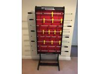 Rapid fire folding football table brand new never used
