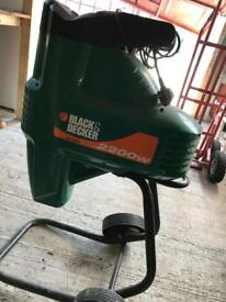 Black & Decker GS 2200 Shredder