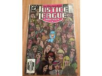 Sealed Justice League America #29 (Aug 1989, DC)