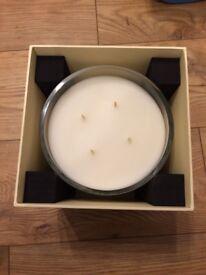 Genuine Jo Malone 4 wick Luxury Candle - pomegranate noir RRP £300