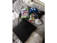 Xbox 360 with games..£40