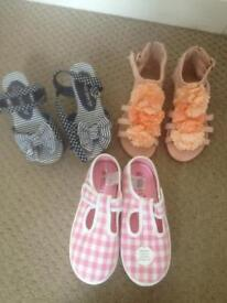 M&S Junior shoes/trainers size 10 NEW