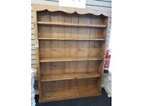 Large Wooden Bookcase / Display Cabinet
