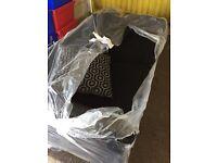 **brand new** 3 seater fabric sofa