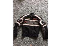 RST textile men's jacket small
