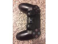 PS4 controller with thumb grips