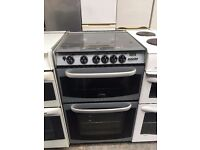 CANNON free standing full gas cooker 55 cm width black in good condition & perfect working order