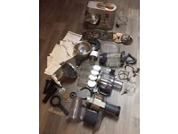 Kenwood KMC030 Titanium Chef + many attachments Kitchen timer Machine WARRANTY