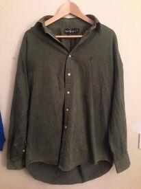 Ralph Lauren shirt size large £10