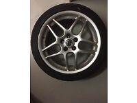 3 original VW alloy wheels for VW Transporter