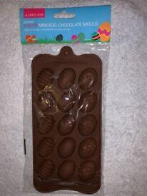 New Sealed Lakeland Easter Mini Egg Chocolate Mould IP1