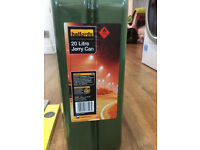 20 litre jerry can Halfords, Never used - £10