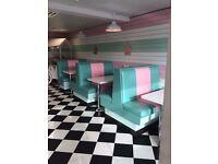 1950's Retro Milkshake and Ice Cream Parlour in Leeds