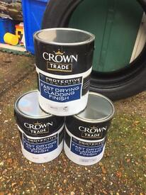 Crown Cladding paint 'White'