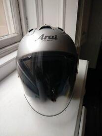 Arai SZ RAM III - Silver Frost - 53 - 54cm - XS - Motorcycle Helmet