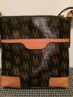 Dooney & Bourke bag - signature letter carrier