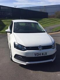 Volkswagen Polo R-Line Style 1 owner 30.5k miles 5dr full vw service history