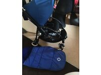 Bugaboo bee plus black chassis £300