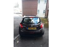 PEUGEOT 208, 62/PLATE, 1.2L, WITH NEW MOT
