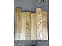 Reclaimed Stained Oak Flooring - 40 m2 in stock!