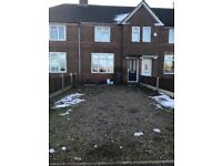 Three Bedroom Terraced House, Double Glazed, Central Heated, Off Road Parking, Front/Back Garden