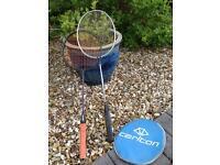 2x badminton rackets