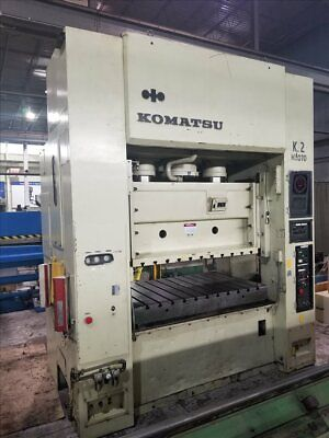 Komatsu E2m200 Straight Side Double Crank Press B38291