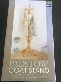 Padstow wooden coat stand *new*