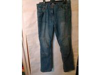 "Crane Motorcycle Jeans - 32"" Waist"