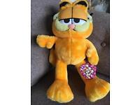 Plush Garfield toy