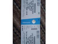 2 black Sabbath final tour tickets for Thursday 26th Jan Leeds arena gold circle