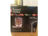 Russel Hobbs 3-tier food steamer