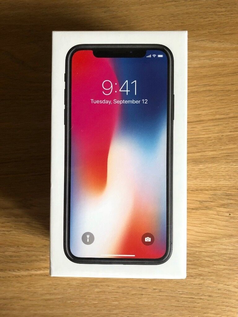 Apple iphone x 64gb space grey unlocked brand new in for Mac due the box