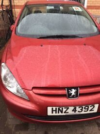 Peugeot 307 S HDI 1.6, 5dr for sale