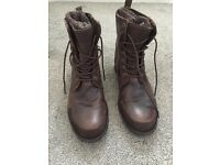 Dune winter boots size 8 uk brown